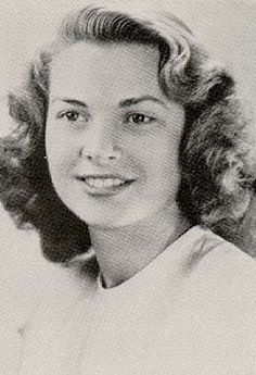 Grace Kelly at her graduation, 1947
