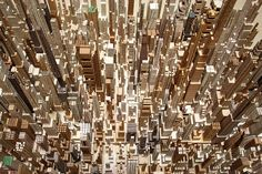 Awesome, Imaginary Cities Carved Out Of Wood   Co.Design   business + innovation + design