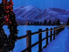 gorgeous...mountain Christmas...