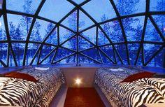 Finland igloo hotel