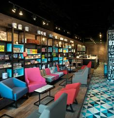 Cool Coffee Shop Interior Design..nice and artsy...