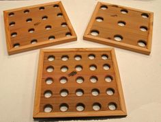 Seed Spacing Template for Square Foot Gardening