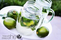 Old Fashioned Mint Limeade