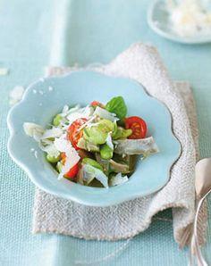 Dicke-Bohnen-Salat mit Artischocken - Herzhafte Gerichte für den Sommer - [LIVING AT HOME]