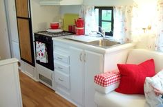 "Kitchen all ready for ""Camping"""