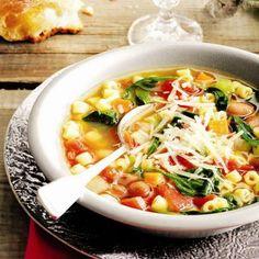 vegetarian: easy minestrone...