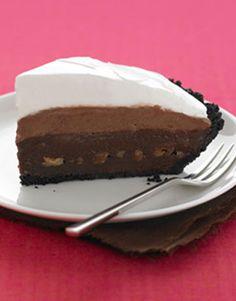 Tri-Layer Chocolate Pie