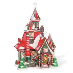 "Department 56: Products - ""The North Pole Palace"" - View Lighted Buildings"