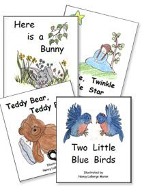 Free printable mini-books. Some nursery rhymes