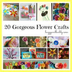 flower crafts or kids