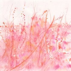 Art  Watercolor Painting    Watercolor  Flower   Home by mallalu