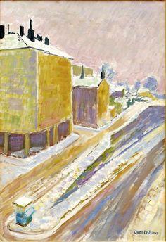 winter art, favorit paint, visual artist, art friend, axel nilsson, impressionist paint