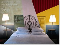 6 bedroom color schemes (and some nice decorating detail)