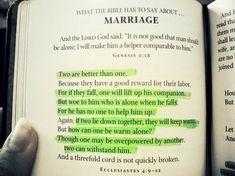 I want this said at my wedding.