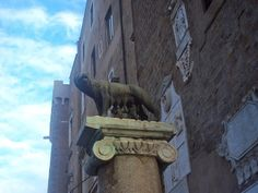 La Lupa, the symbol of Rome.