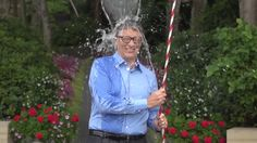 Bill Gates takes the Ice Bucket Challenge — and wins