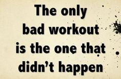 The only bad workout is the one that didn't happen. #calstrength #weightlifting #motivation