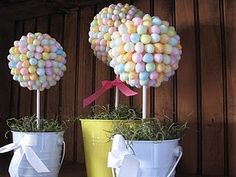Egg Topiary and Other Easter Crafts