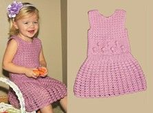 Craft Ideas : Projects : Details : crochet-flowers-lace-jumper   Sizes are: 2 years (4 years, 6 years, 8 years, 10 years).