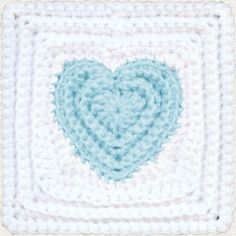 i really like it - a heart square where the heart is really defined