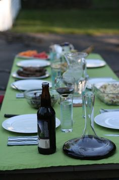 Dinner Party Outside
