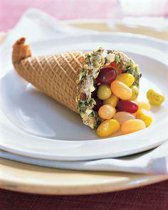 Candy Cornucopias - Martha Stewart Crafts - Thanksgiving