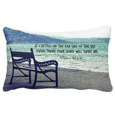Encouraging Bible Verse Quote Pillows #pillow #bibleverses