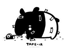 noodle doodle: Tapir= Tape-ir