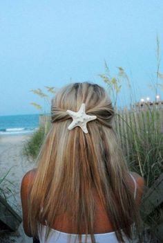 Starfish hair piece