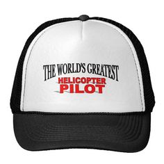 The Worlds Greatest Helicopter Pilot Mesh Hat