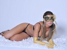 Graciella Carvalho, a Vice Miss Bumbum, é a estrela da campanha de lingerie Malhadona. As fotos do ensaio foram divulgadas nesta quinta-feira (7) Foto: Divulgação