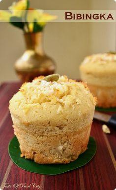 Bibingka - rice flour cake