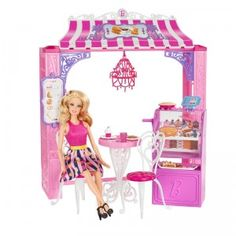 The Barbie Malibu Ave. Bakery is a playset, with Barbie doll, based on a location seen in the web series Barbie: Life in the Dreamhouse.