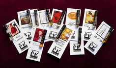 $25 PK Perfumes Sampler Set Jan 2013-W