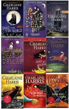 True Blood Series by Charlaine Harris