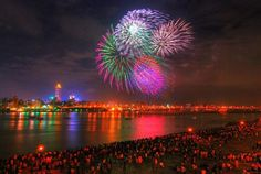 See the largest fireworks show in the world