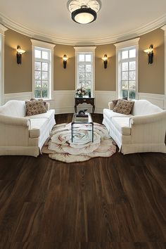 New floors are a fantastic update that can transform the look of your entire home. Just snap Allure planks together over your existing floor for a durable, waterproof solution.