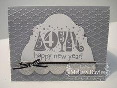 Happy New Years - created by Melissa Davies @ rubberFUNatics