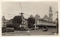 Luz Railway Station, circa 1930