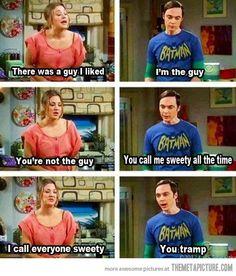 HAaaaaaaaaaaa! I love Sheldon! I love The Big Bang Theory.