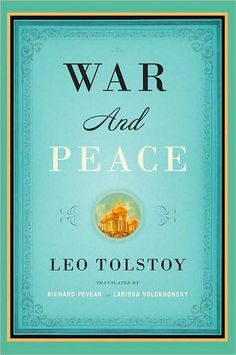 War and Peace (Pevear/Volokhonsky Translation). It's on my bucket list, and I decided this was the year to tackle it.
