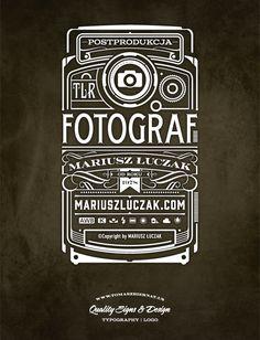 Fotograf-logo | Logotype / repinned on Toby Designs
