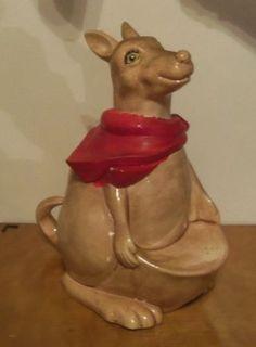 Vintage Arnel's Kangaroo Cookie Jar