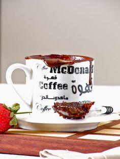 Nutella Lava Mug Cake