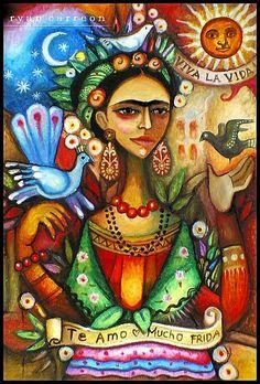 Paloma Negra ( Frida full ) by Estaba El Senhor InigoDeloyola, via Flickr