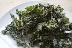 Stinging Nettle and Kale Chips