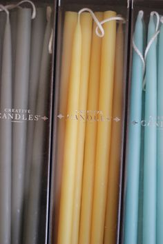 "Thin Hand Dipped Taper Candles - 12"" (Set of 8) - Everyday Occasions"