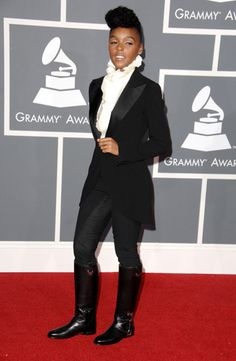 Janelle Monae -- Fashion Icon