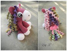 crochet pony - original pattern from: http://www.etsy.com/people/DeliciousCrochet?ref=ls_profile