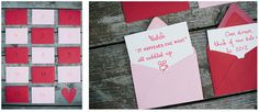 valentin advent, advent countdown, idea, valentine day, romant valentin
